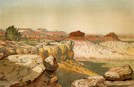 Beautiful Landscape of Grand Canyon