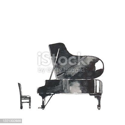 istock Grand piano 1221332655