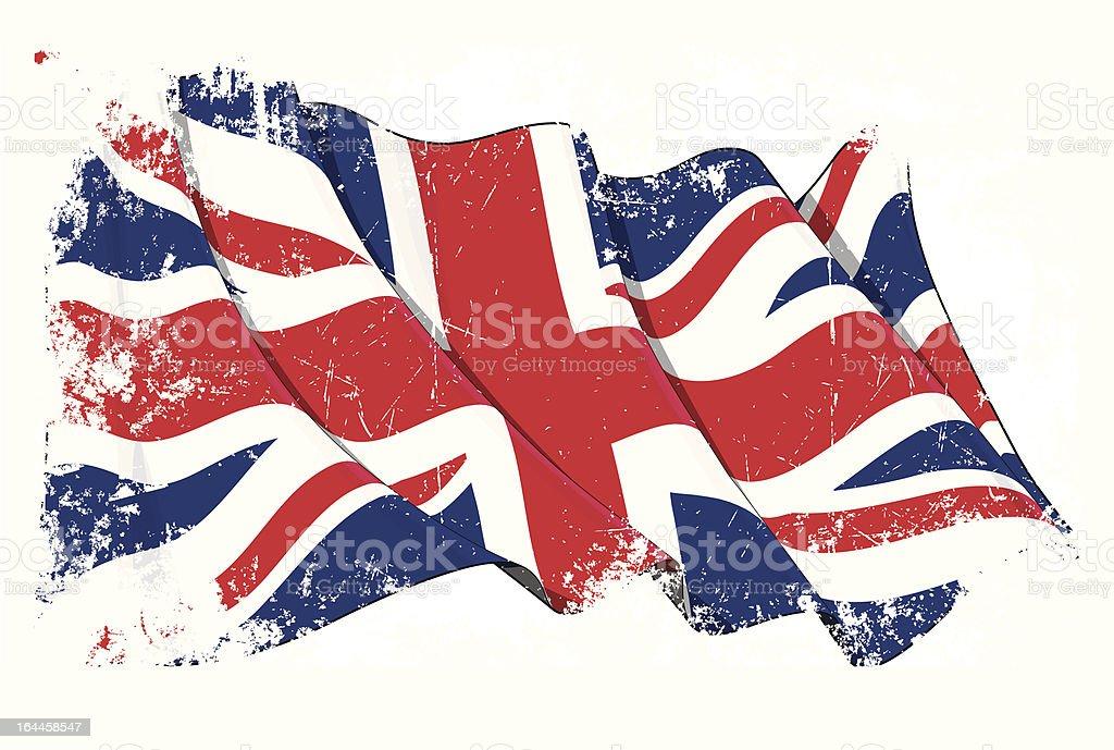 Grange Flag of UK royalty-free stock vector art
