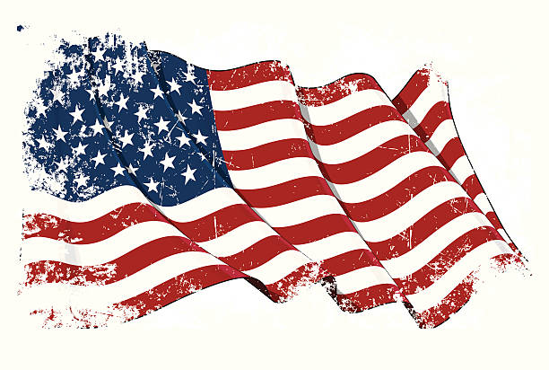 bildbanksillustrationer, clip art samt tecknat material och ikoner med grange flag of usa - dirty money