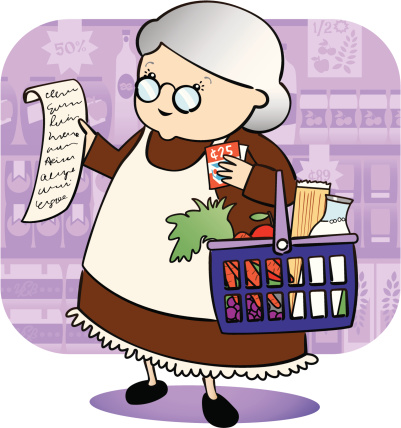 Granny Grocery Shopping