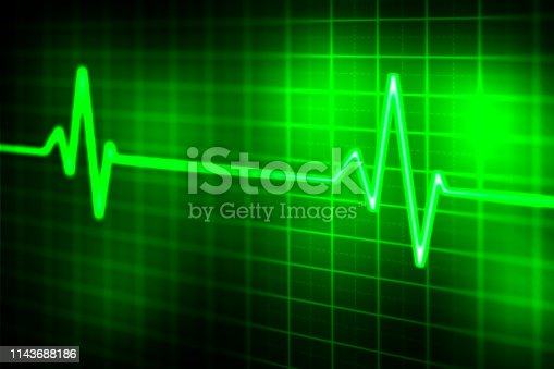 876037556 istock photo graph and health care abstract background 1143688186