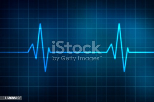 876037556 istock photo graph and health care abstract background 1143688192
