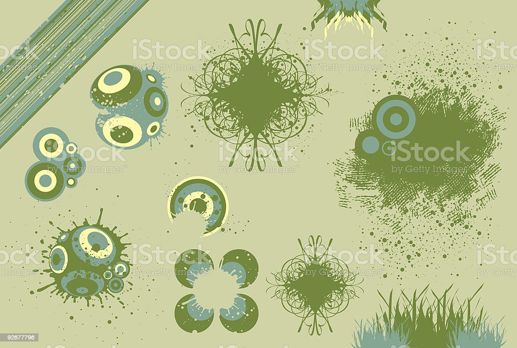 Graphic Elements 7 (Vector) royalty-free stock vector art
