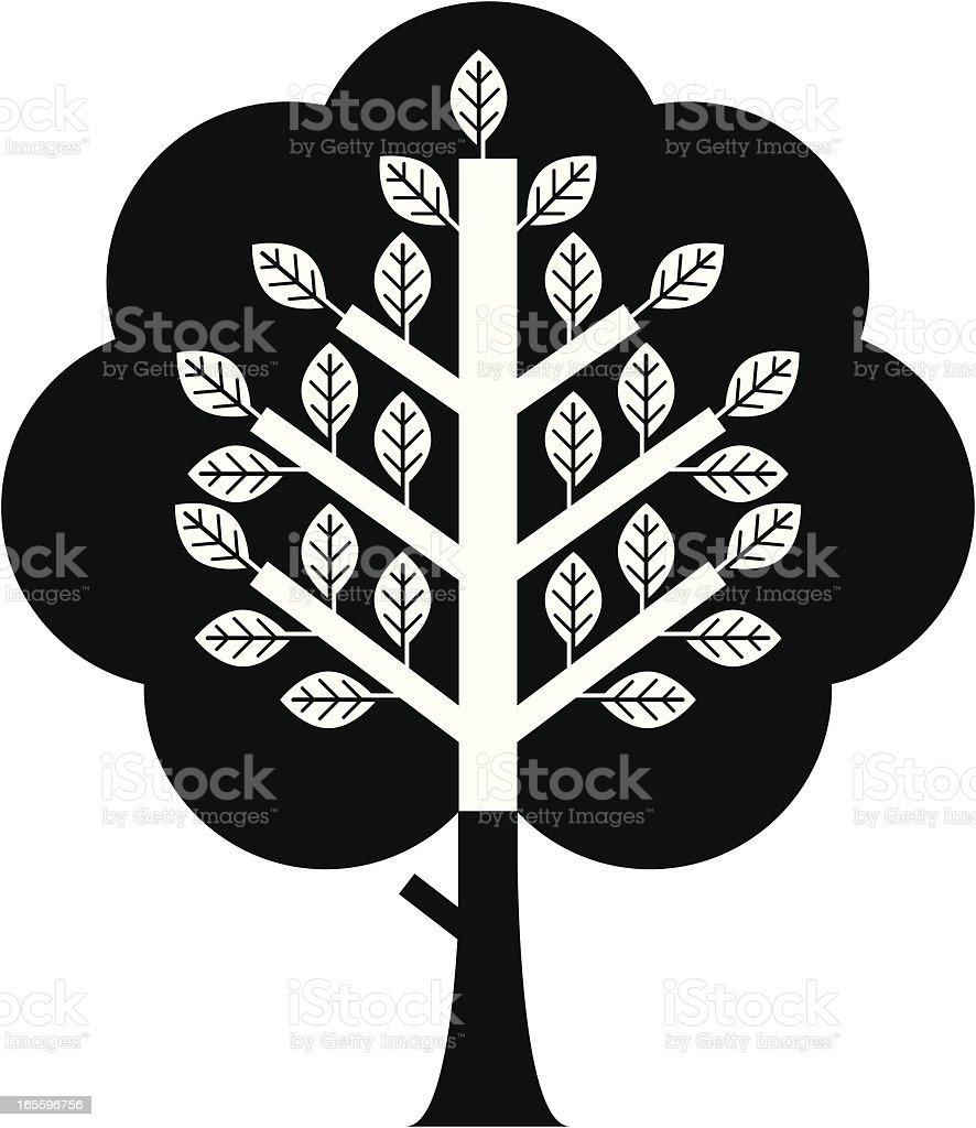 Imagem tree dois. ilustração de imagem tree dois e mais banco de imagens de flora royalty-free