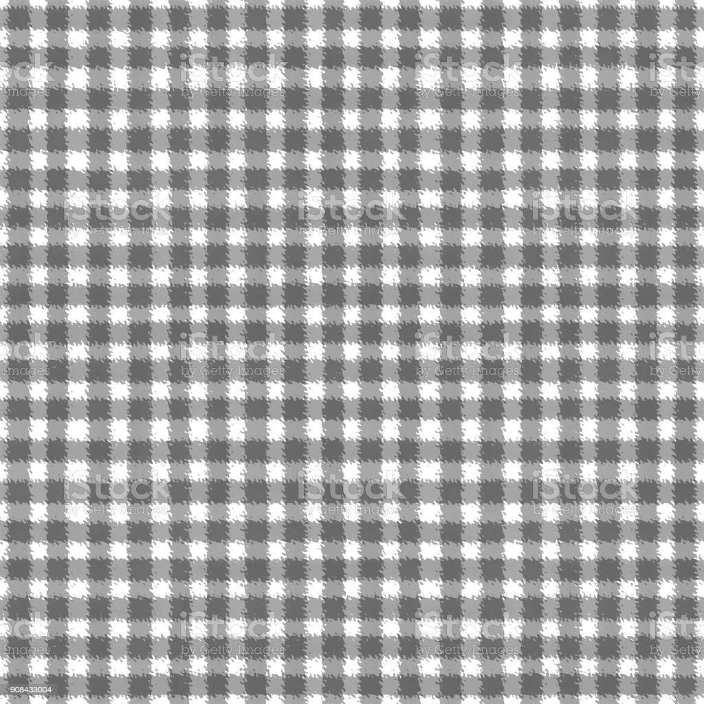 グレーと白のチェック柄背景 イラストレーションのベクターアート素材や画像を多数ご用意 Istock