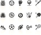 """""""Vector icons. Simple series. One icon consists of a single object + reflection (on a separate layer). EPS8, JPEG + AI CS3"""""""