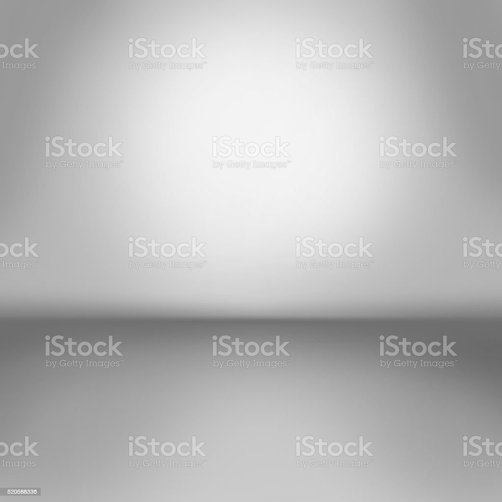 gray background.Inside an empty room vector art illustration