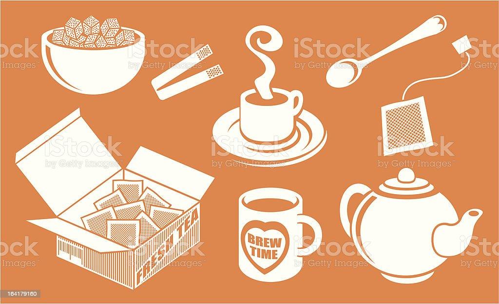 Great British Cuppa Tea royalty-free stock vector art