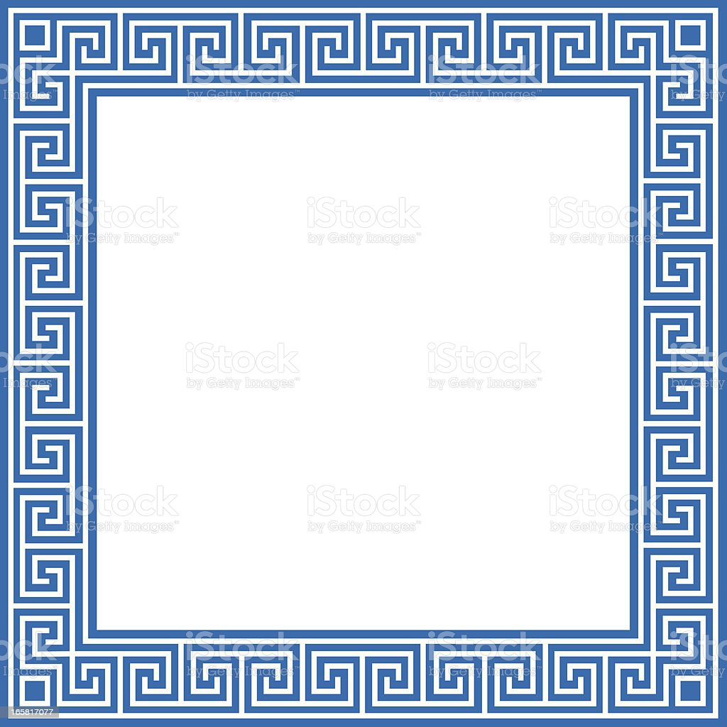 greek border stock vector art amp more images of backgrounds