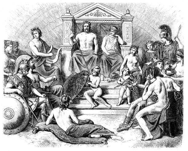 Best Greek Gods Illustrations, Royalty-Free Vector ...