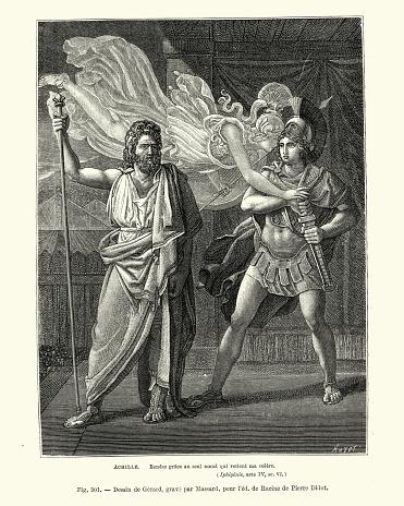 Greek mythology, Achilles' Wrath and the Plan of Zeus