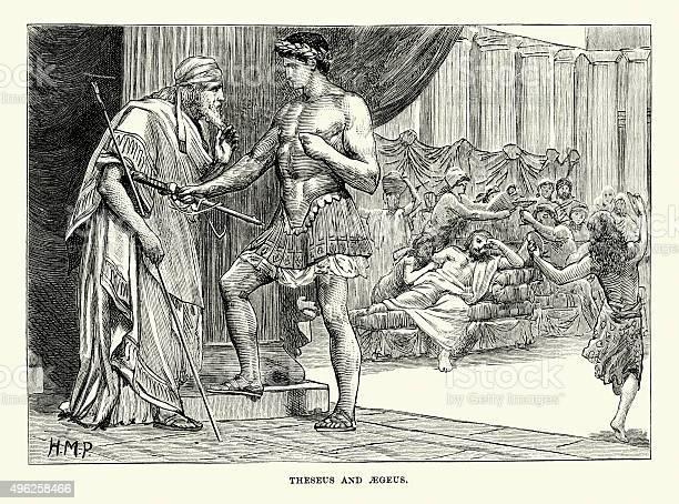 神話 テセウス