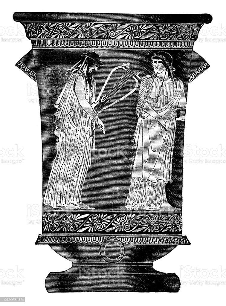 Greek pot royalty-free greek pot stock vector art & more images of 19th century