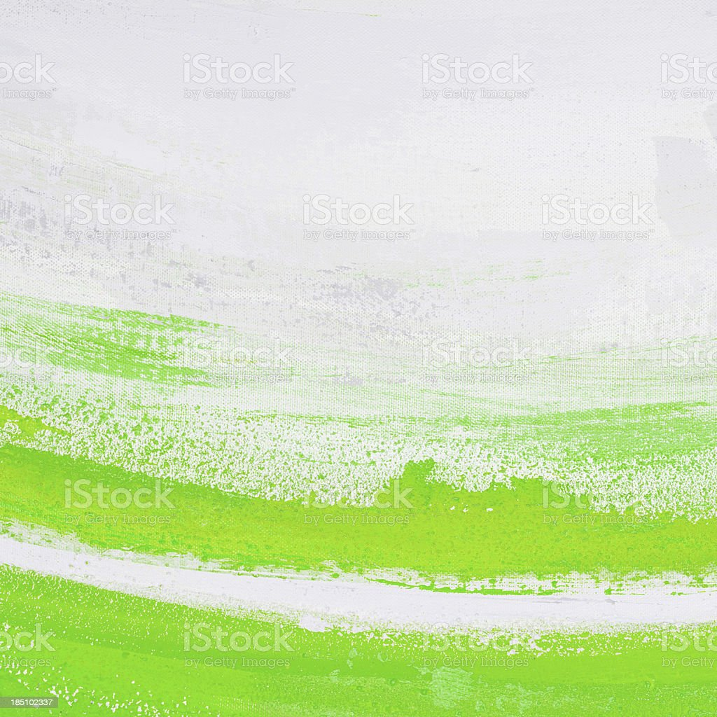 Green and white paint. royalty-free stock vector art