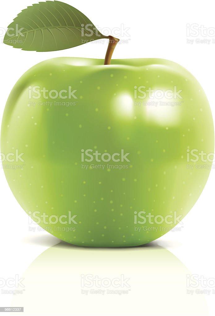 Green apple - Royalty-free Apple - Fruit stock vector