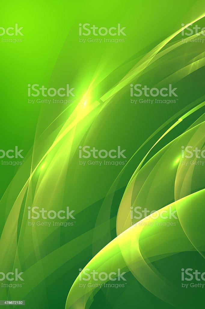 Green Kunst abstrakt Hintergrund – Vektorgrafik
