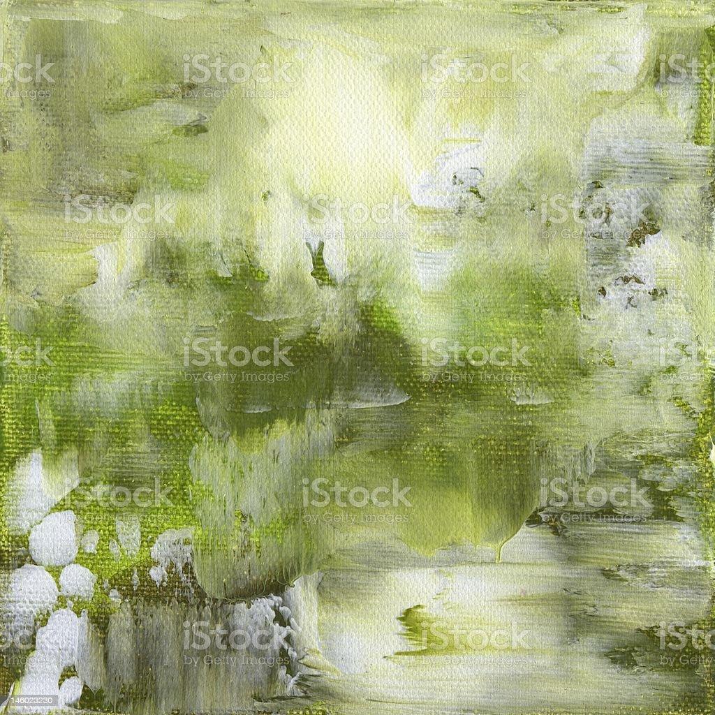 Green background - Hintergrund in grün vector art illustration
