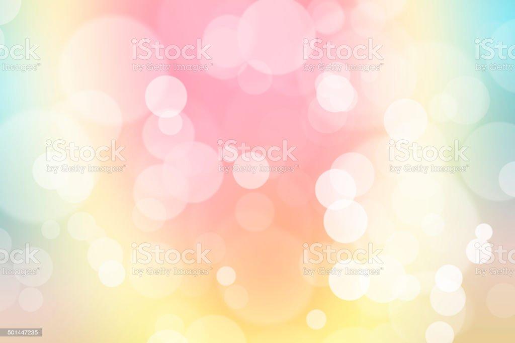 Verde Blu E Rosa Pastello Colorato Sfondo Sfocato Bokeh L Immagini