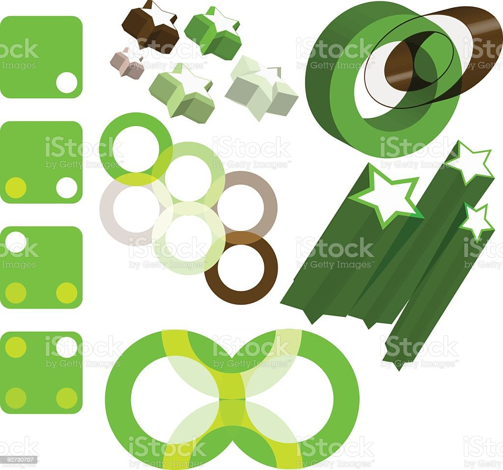 green design things royalty-free green design things stock vector art & more images of brown