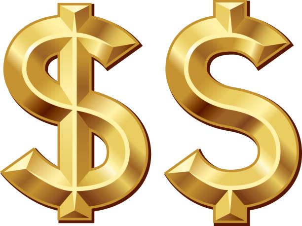 ilustrações, clipart, desenhos animados e ícones de dólar verde - símbolo do dólar