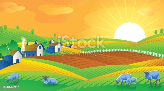 istock Green Field 164307527