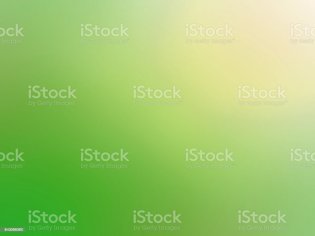 Green gradient blurred background vector art illustration