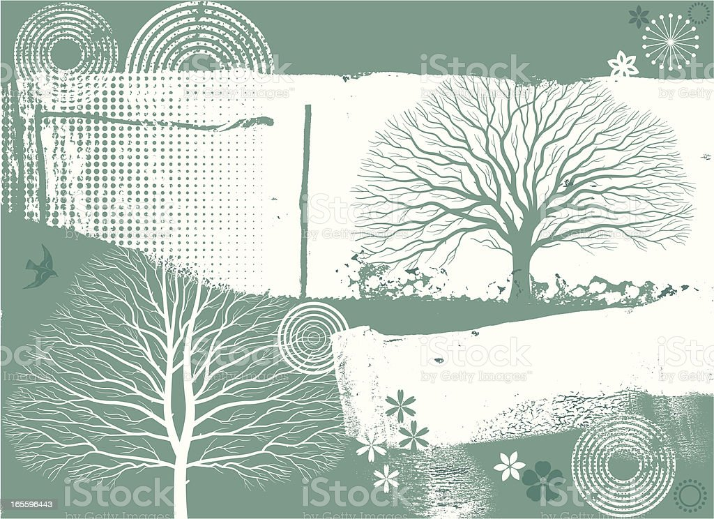 Green grunge background royalty-free green grunge background stock vector art & more images of animal wildlife