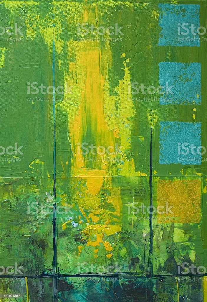 green painted background royalty-free stock vector art