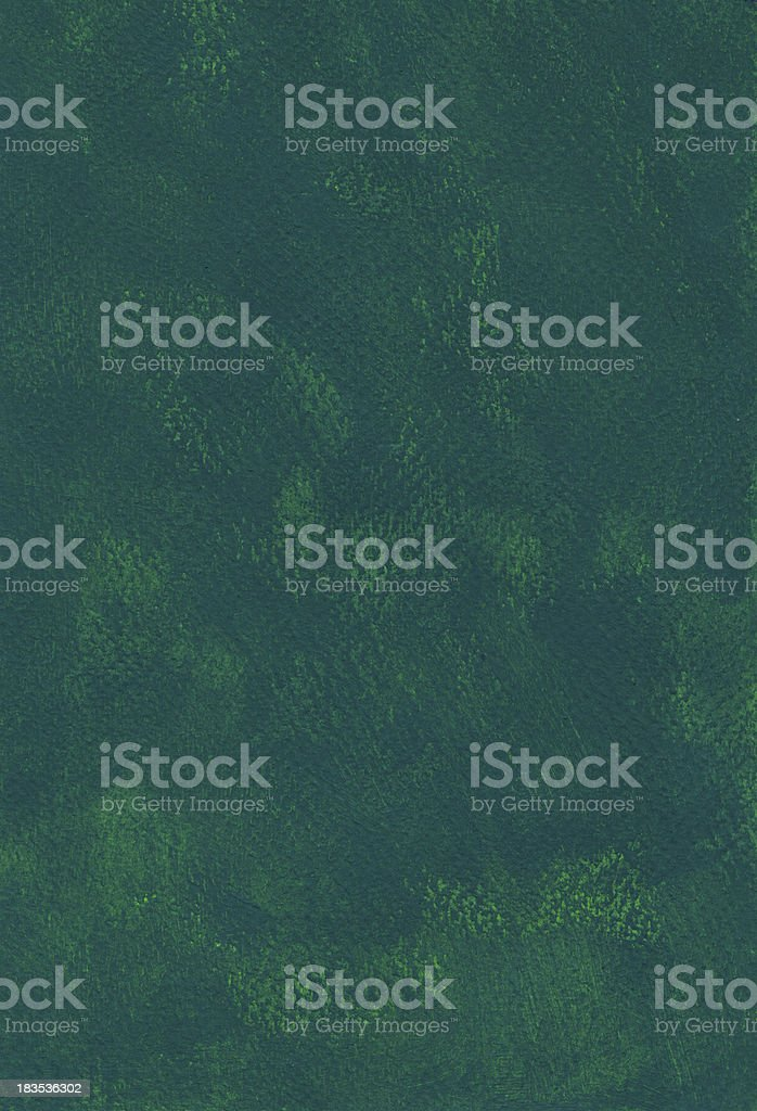 Green painted paper vector art illustration