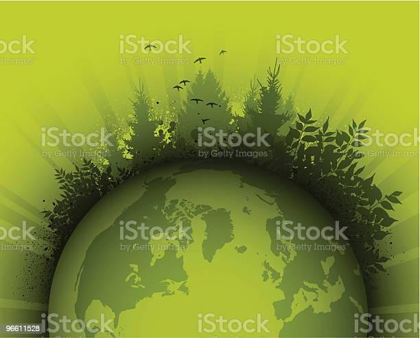 Green Planet-vektorgrafik och fler bilder på Dag