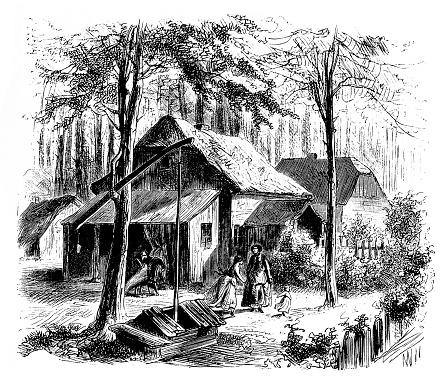 Green residents in German village