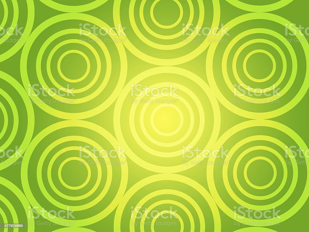 Green Rings & Circles background royalty-free green rings circles background stock vector art & more images of art