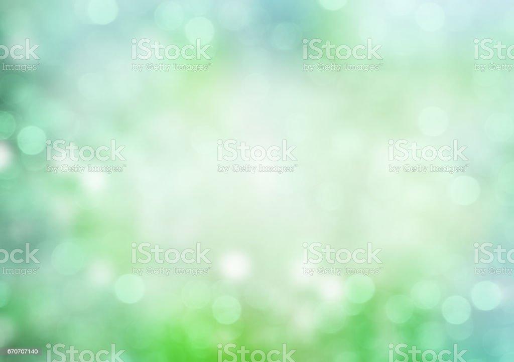 Green soft blur abstract illustration background. vector art illustration