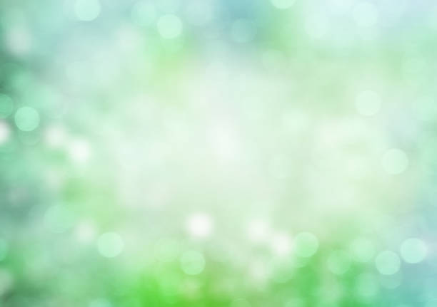 green soft blur abstract illustration background. - freshness stock illustrations, clip art, cartoons, & icons