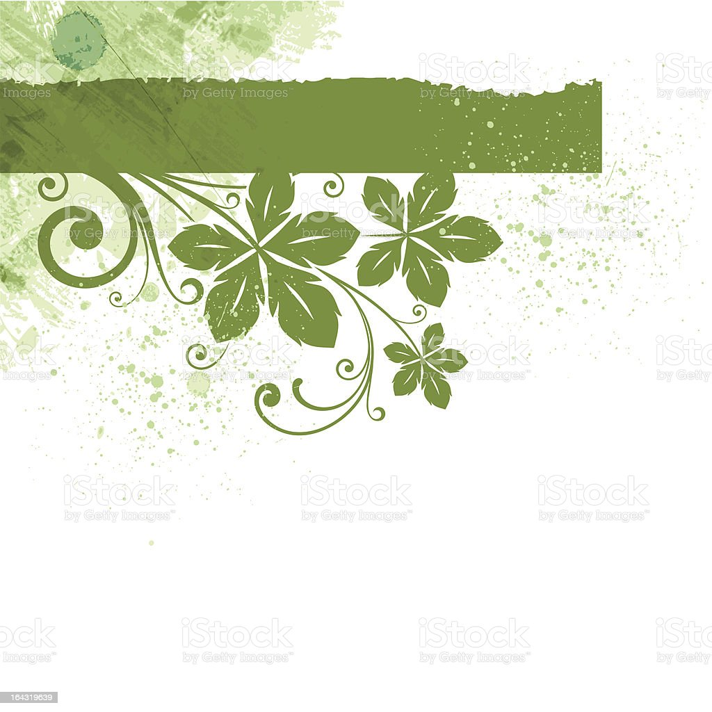 Green stripe royalty-free stock vector art