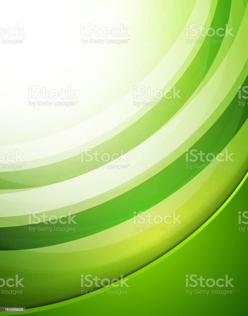Green swirl background royalty-free stock vector art