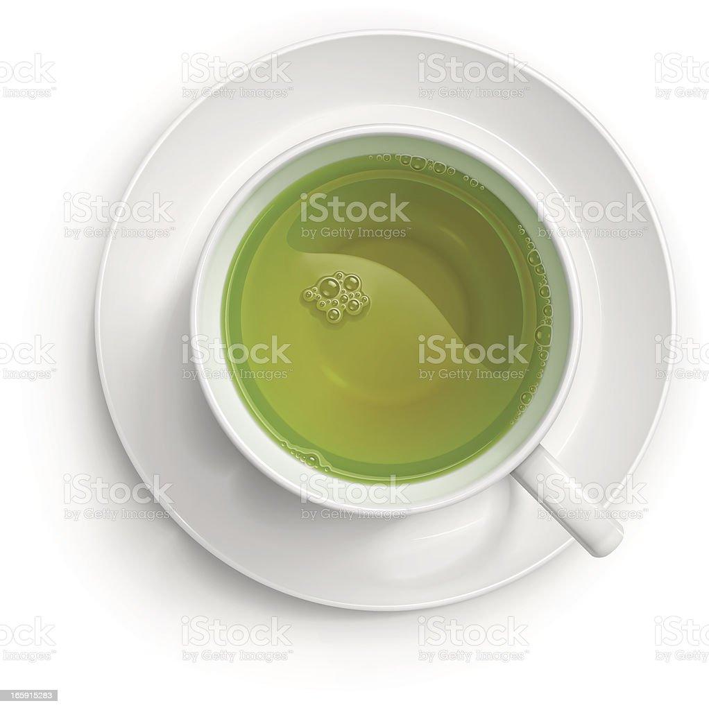 Green tea royalty-free green tea stock vector art & more images of bubble