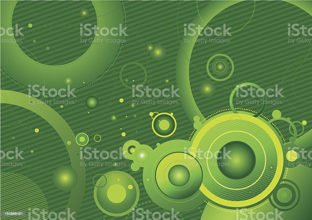 green vector background royalty-free stock vector art