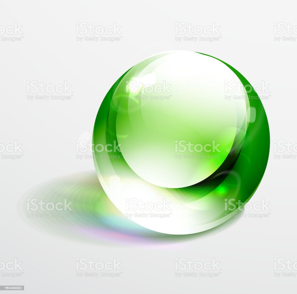 Green vector sphere royalty-free green vector sphere stock vector art & more images of abstract