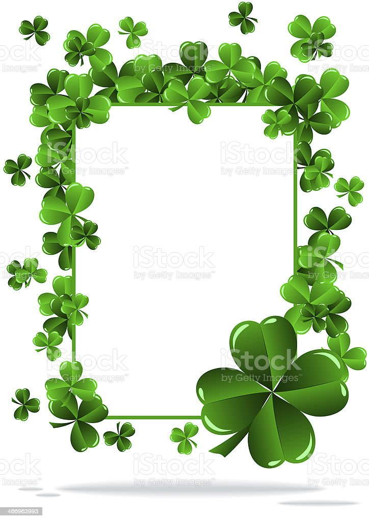 Greeting Card St. Patrick's Day royalty-free greeting card st patricks day stock vector art & more images of backgrounds