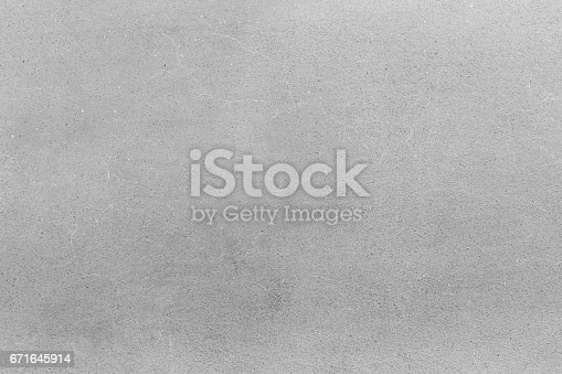 istock Grey concrete or cement texture for background 671645914