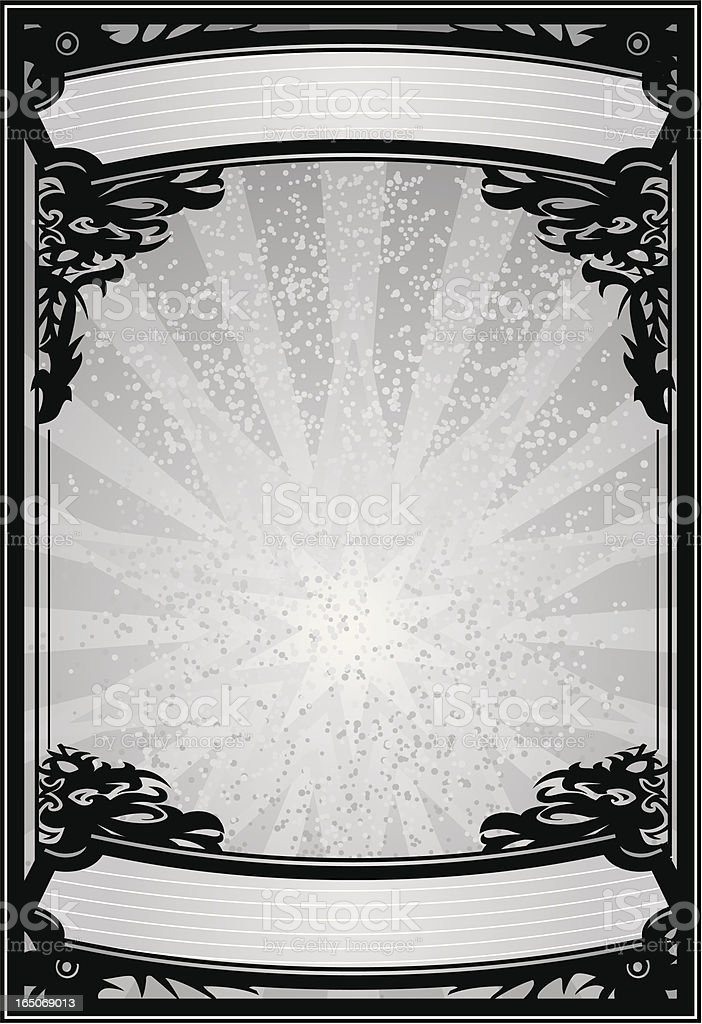 grey poster royalty-free stock vector art
