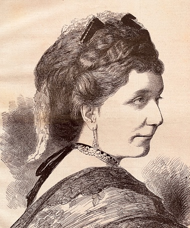 Gräfin Andrassy, wife of Dionysius Andrássy, art patron and benefactor