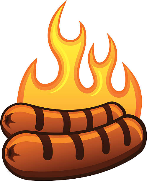 Royalty Free Bratwurst Clip Art, Vector Images ...