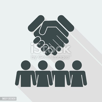 Group Agreement Icon Stock Vector Art More Images Of Agreement