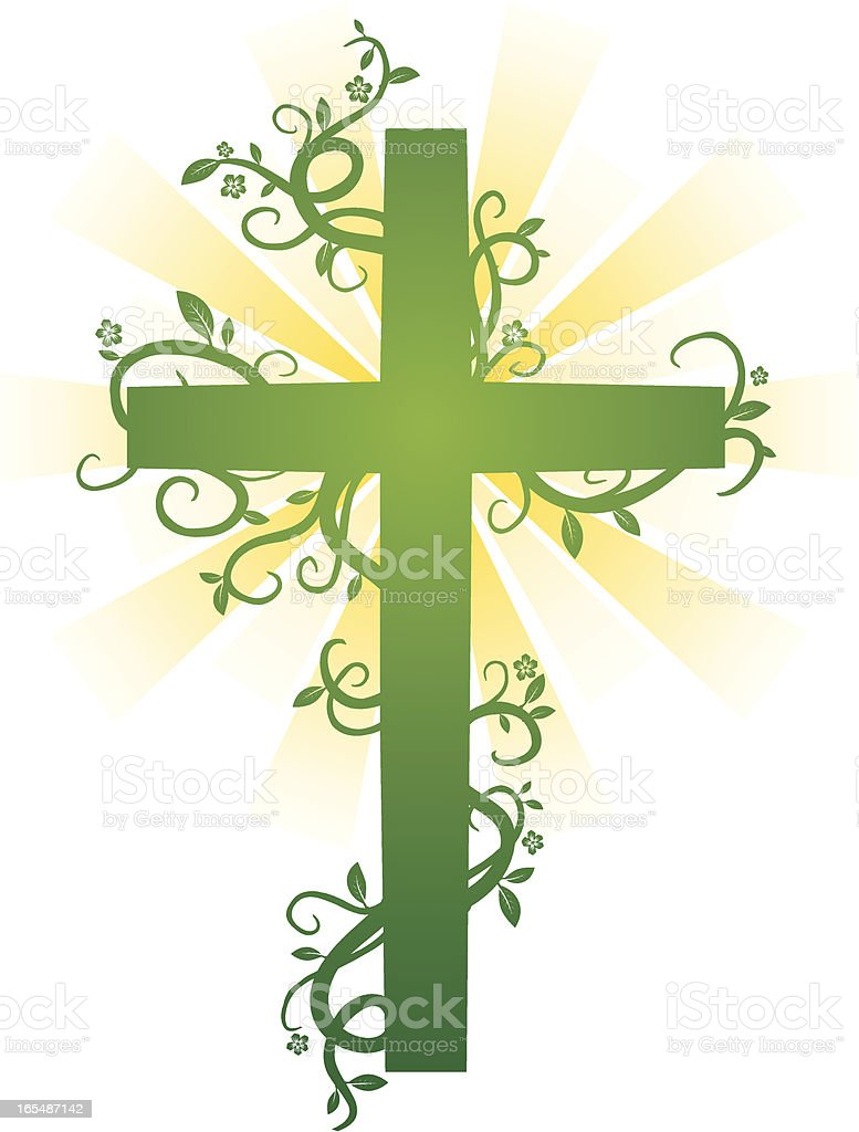 growing cross royalty-free growing cross stock vector art & more images of celebration event