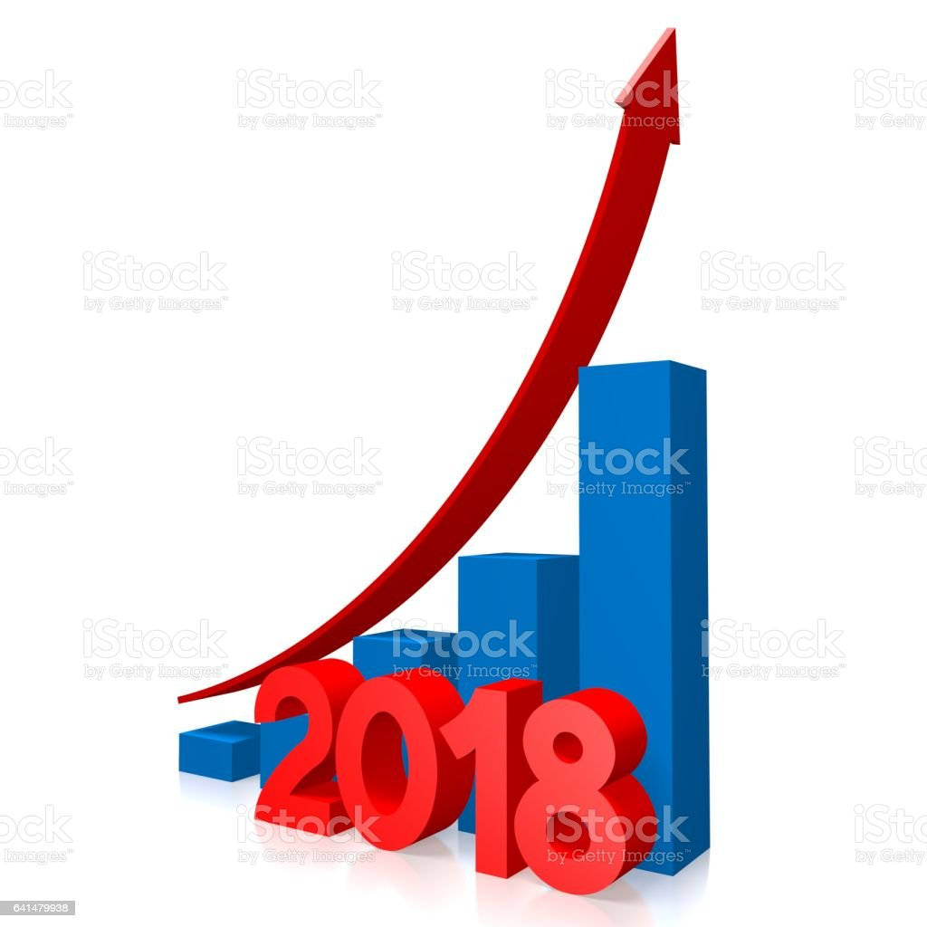 3d growth chart 2018 stock vector art more images of 2018 3d growth chart 2018 royalty free 3d growth chart 2018 stock vector art amp nvjuhfo Gallery