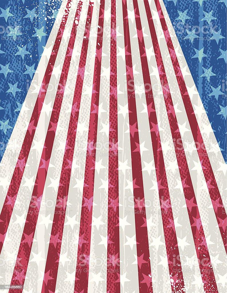 USA grunge  background royalty-free stock vector art