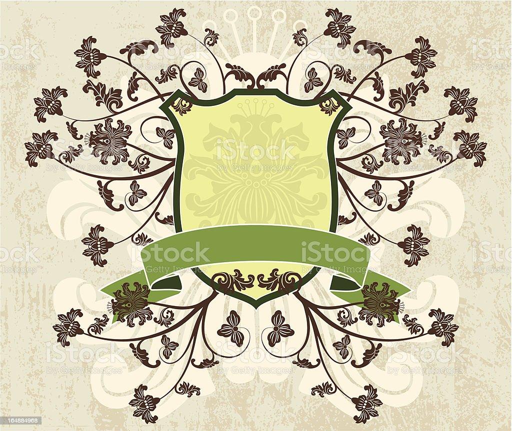 Grunge background, vector vector art illustration